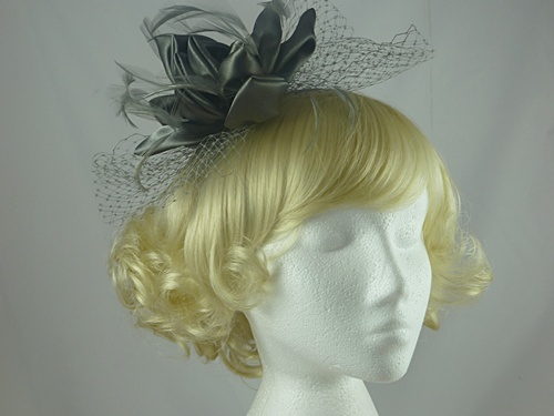 Failsworth Millinery Satin Flower Fascinator