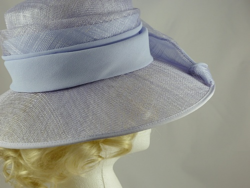 Gina Bacconi Pale Lavender Events / Wedding Hat