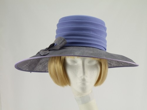 Gina Lilac Formal Hat