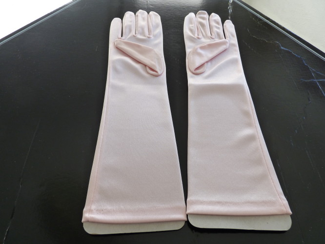 Wedding Gloves Palest Cream / Ivory