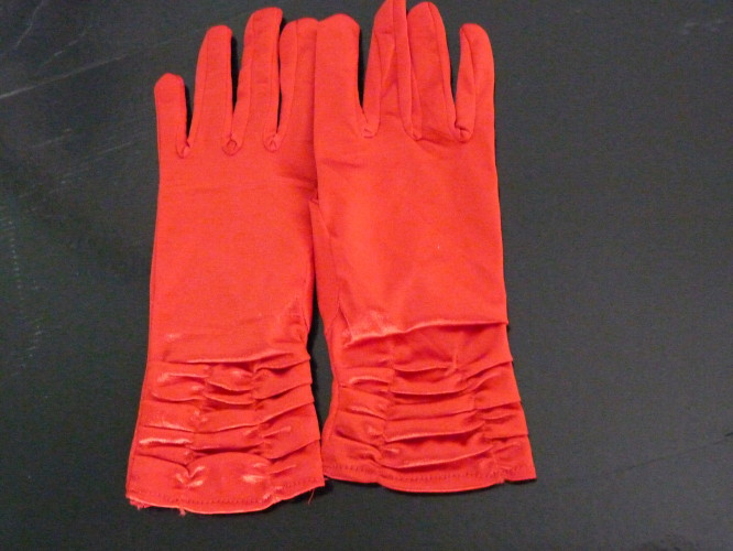 Wedding gloves Small Scarlet