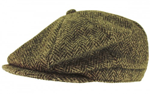 Boardman Harris Tweed Bakerboy Cap