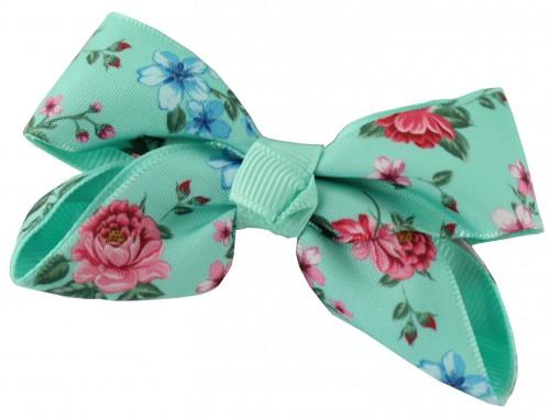 Daisy Daisy Floral Double Bow Hair Clip