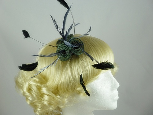 Triple Swirl Fascinator