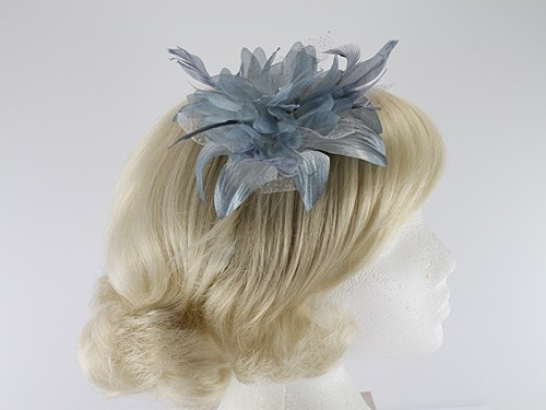 Aurora Collection Flower Comb Fascinator
