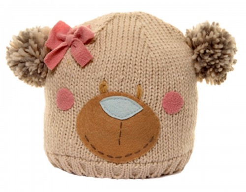 Hawkins Bear Ski Bobble Hat