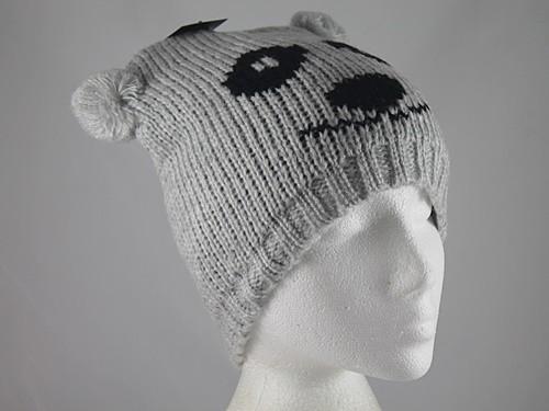 Hawkins Panda Beanie Ski Hat