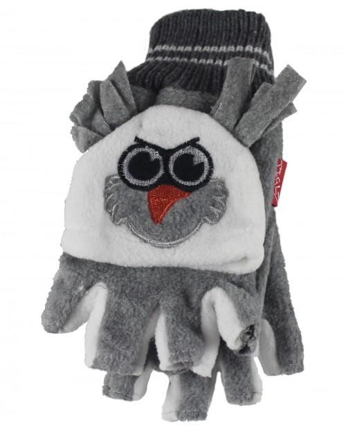 056d2e79ce8 Wedding Hats 4U - Jiglz Fleece Animal Ski Hat and Gloves in Grey ...