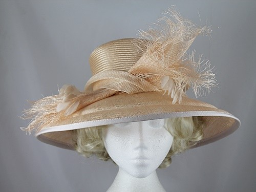 Gwyther Snoxells Cream Occasion Hat