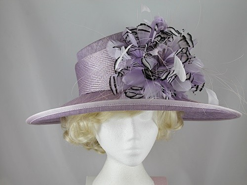 Gwyther Snoxells Lilac Events Hat