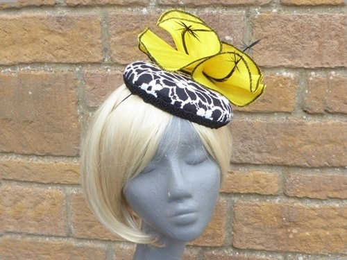 HATS by Emelle Natalia Lace Covered Headpiece