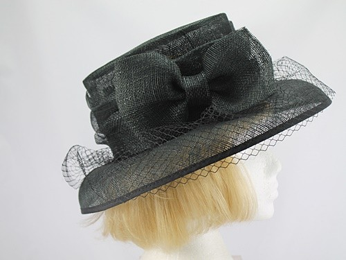 Hatmosphere Collection Black Formal Hat