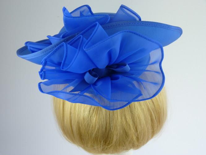 Kangol Wedding headpiece in Mid Blue