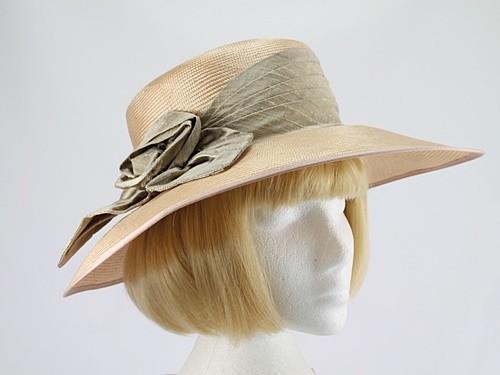 Headworks Coffee and Corn Wedding Hat