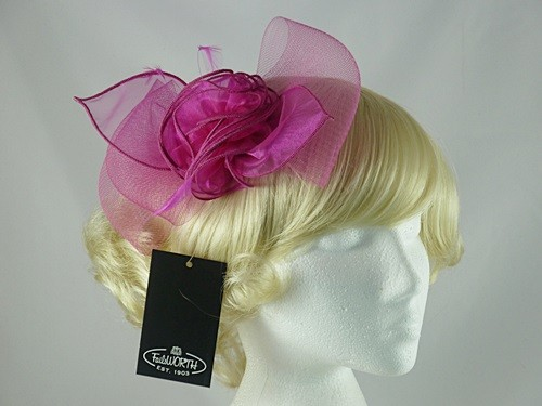 Failsworth Millinery Crin and Organza Headpiece