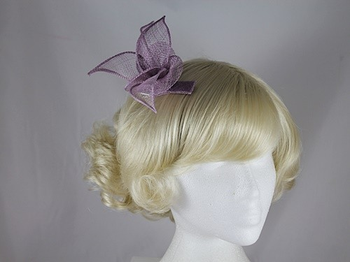 Elegance Collection Sinamay Small Leaves Fascinator
