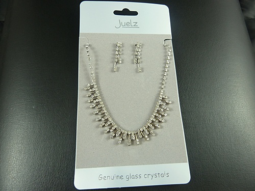 Icicle Necklace and Earring Set