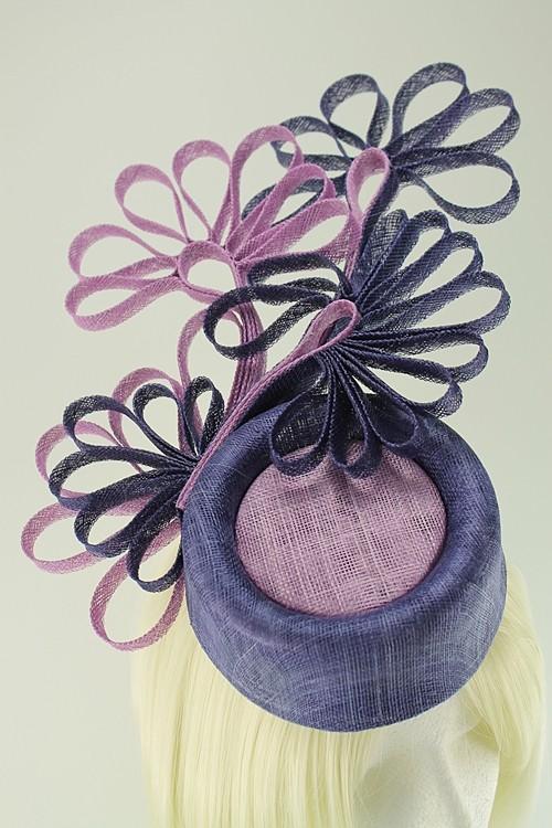 5178d30d Tiaras 4 Weddings - Failsworth Millinery Events Pillbox Headpiece in ...