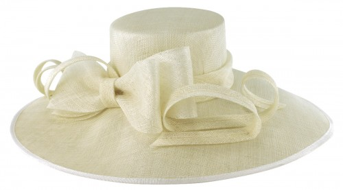 Elegance Collection Wide Brim Events Hat