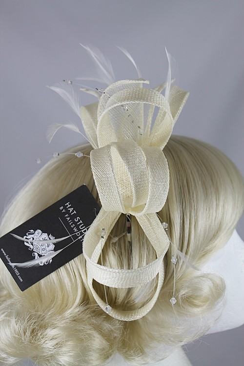 Failsworth Millinery Fascinator with Diamantes
