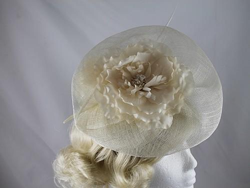 Failsworth Millinery Sinamay Ascot Headpiece