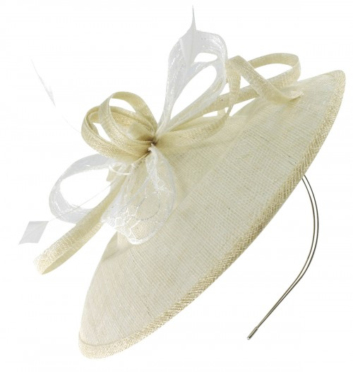 Max and Ellie Wedding Disc in Ivory