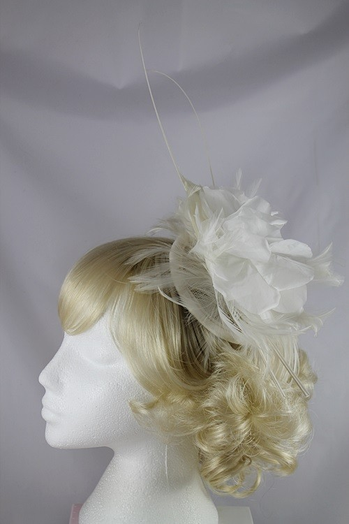 Ivory Petals Headpiece