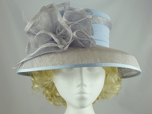 Wedding Hats 4U - Jacques Vert Light Blue Wedding Hat in Blue 3895e2526bb