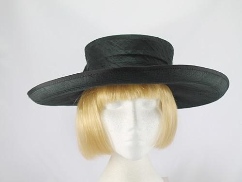 Joan Biggs Black Formal Hat