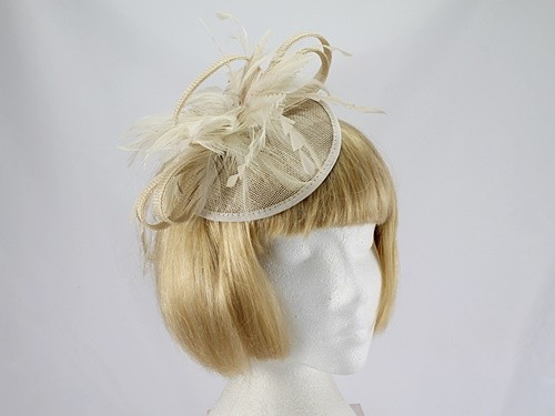 John Lewis Cream Fascinator