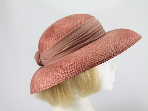 Laura Ashley Caramel Formal Hat