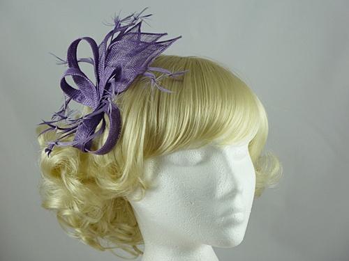 Fascinators 4 Weddings Tara Fascinator In Lavender Lilac