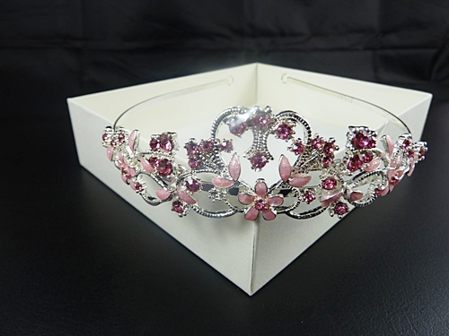 Leaves and Gems Tiara