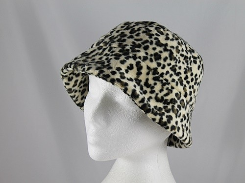 Leopard Print Winter Hat