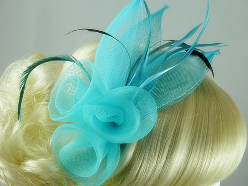 Large Bright Fascinator