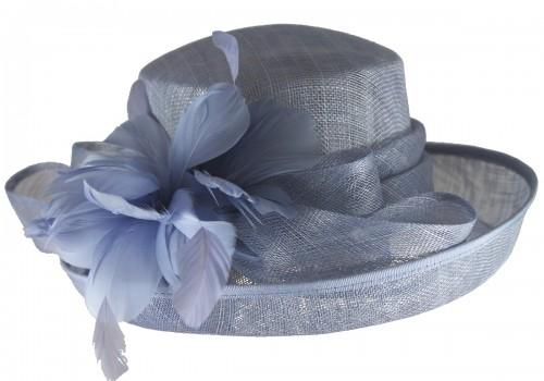 Wedding Hats 4U - Hawkins Collection Upbrim Wedding Hat in Light ... ccc30cb08ab