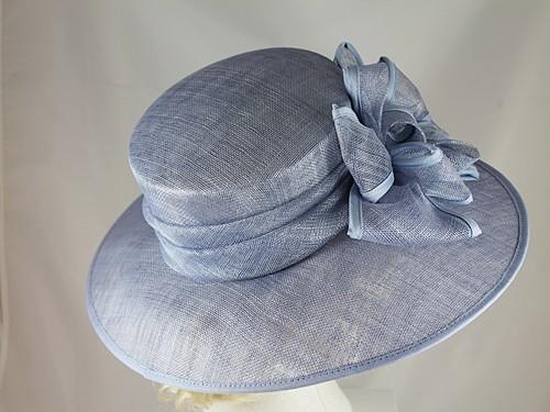 Wedding Hats 4U - Hawkins Collection Wide Loops Wedding Hat in Light ... 21626731ce3