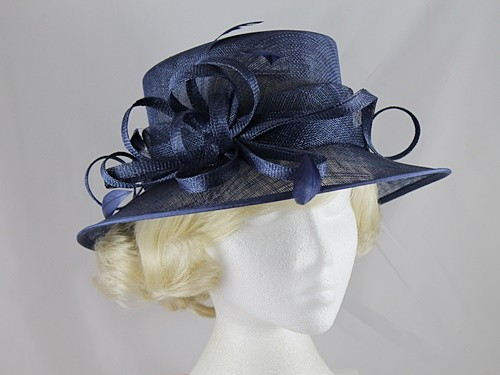 Elegance Collection Sinamay Loops Wedding Hat  53a86777047