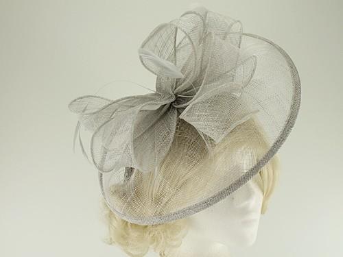 Failsworth Millinery Sinamay Disc Headpiece