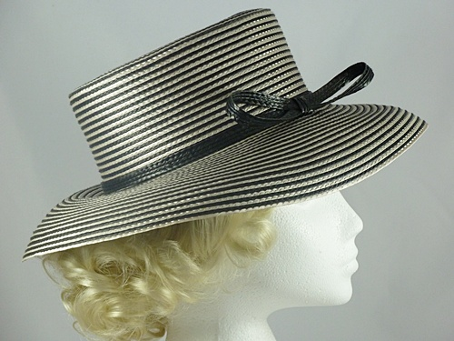 Marks and Spencer Black & Ivory Ladies Hat