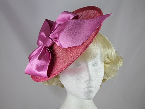 Maddox Pink Bow Disc Headpiece