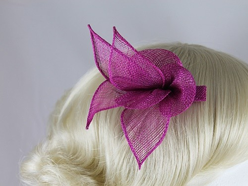 Wedding Hats 4U - Elegance Collection Small Leaves Fascinator in ... a8b67c3fed4