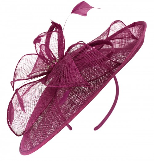 Failsworth Millinery Sinamay Leaves Disc