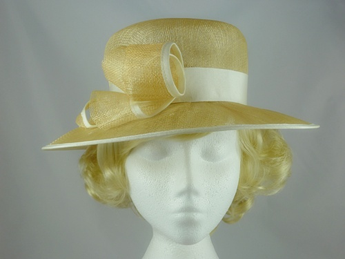 Marida Buttermilk Wedding Hat
