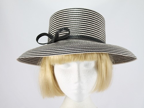 Marks and Spencer Black and White Hat