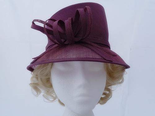Wedding Hats 4U - Debut Mauve Occasion Hat in Mauve fc98f9e7907