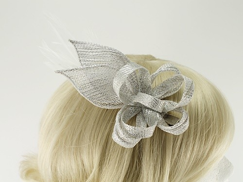 Elegance Collection Loops and Leaves Fascinator