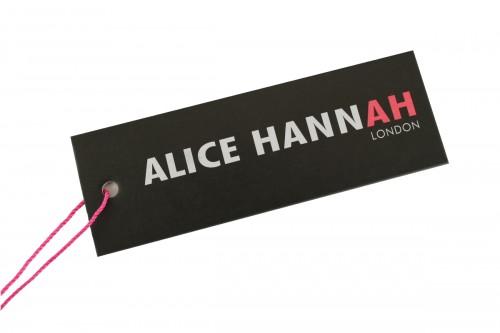 Alice Hannah Alexa Ribbed Knitted Scarf