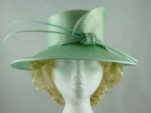 Wedding Hats 4U - Failsworth Millinery Mint Green Wedding Hat c817ec63b4e
