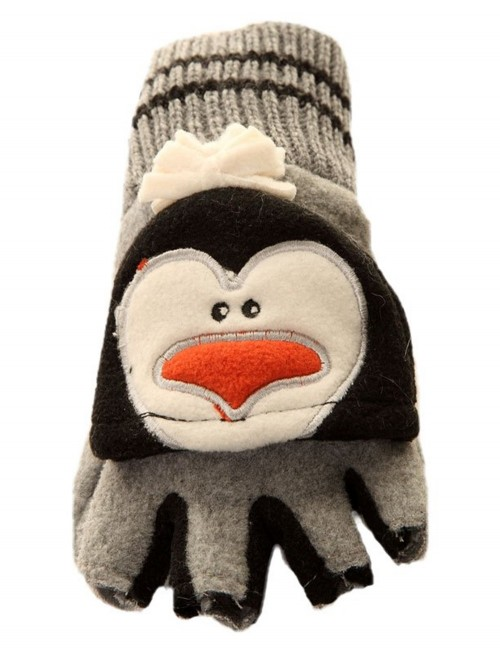 Jiglz Animal Fleece Shooter Mitts